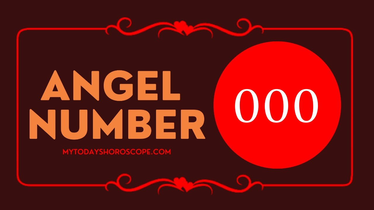 Angel Number 000